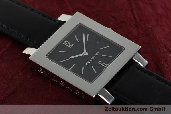 Used luxury watch Bvlgari Quadrato steel quartz Ref. SQ29SLD  | 141794 13