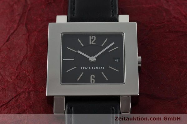Used luxury watch Bvlgari Quadrato steel quartz Ref. SQ29SLD  | 141794 14