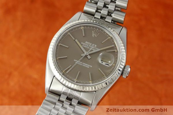 Used luxury watch Rolex Datejust steel / gold automatic Kal. 3035 Ref. 16014  | 141795 04