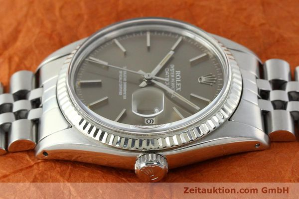 Used luxury watch Rolex Datejust steel / gold automatic Kal. 3035 Ref. 16014  | 141795 05