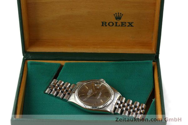 Used luxury watch Rolex Datejust steel / gold automatic Kal. 3035 Ref. 16014  | 141795 07