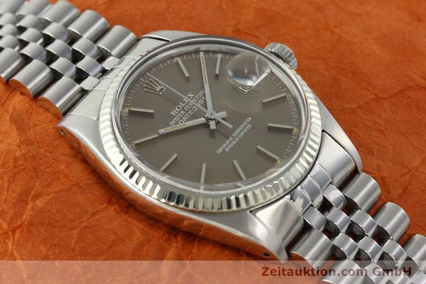 Used luxury watch Rolex Datejust steel / gold automatic Kal. 3035 Ref. 16014  | 141795 14