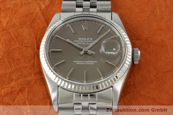 Used luxury watch Rolex Datejust steel / gold automatic Kal. 3035 Ref. 16014  | 141795 15