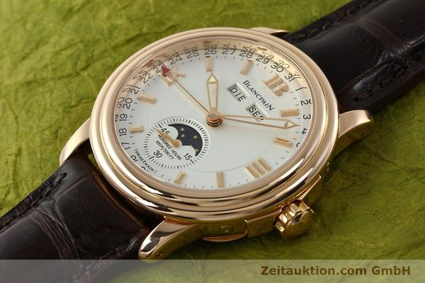Used luxury watch Blancpain Leman 18 ct gold automatic Kal. 6763  | 141796 01