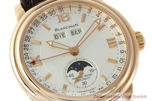 Used luxury watch Blancpain Leman 18 ct gold automatic Kal. 6763  | 141796 02