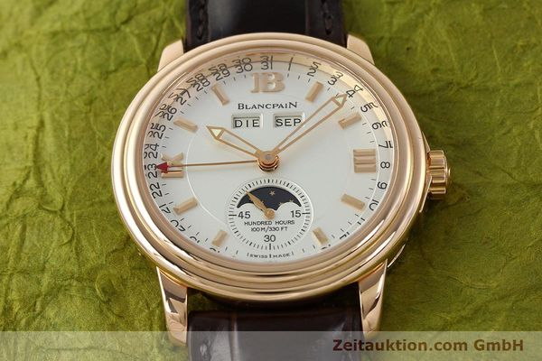 Used luxury watch Blancpain Leman 18 ct gold automatic Kal. 6763  | 141796 19