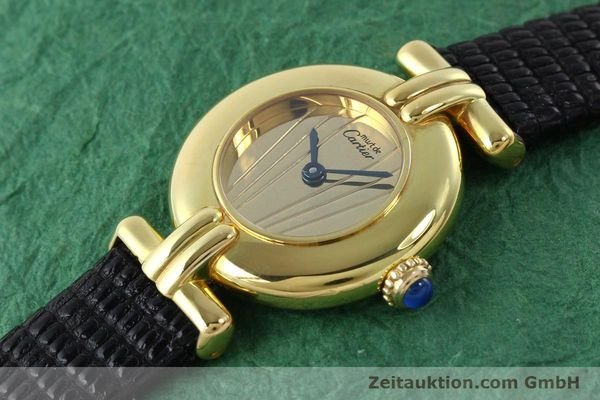 Used luxury watch Cartier Vermeil silver-gilt quartz Kal. 690  | 141797 01