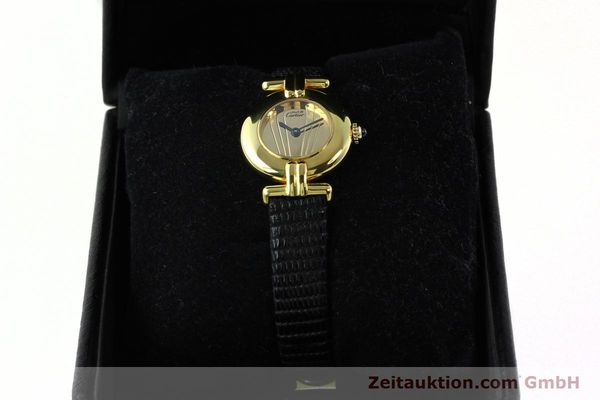 Used luxury watch Cartier Vermeil silver-gilt quartz Kal. 690  | 141797 07