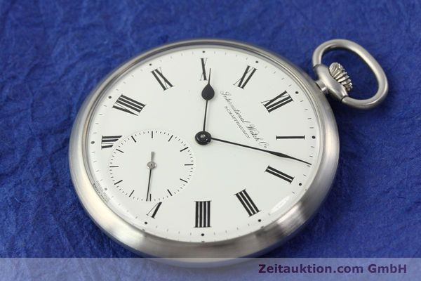 Used luxury watch IWC Taschenuhr steel manual winding Kal. C.972 Ref. 5301  | 141799 01