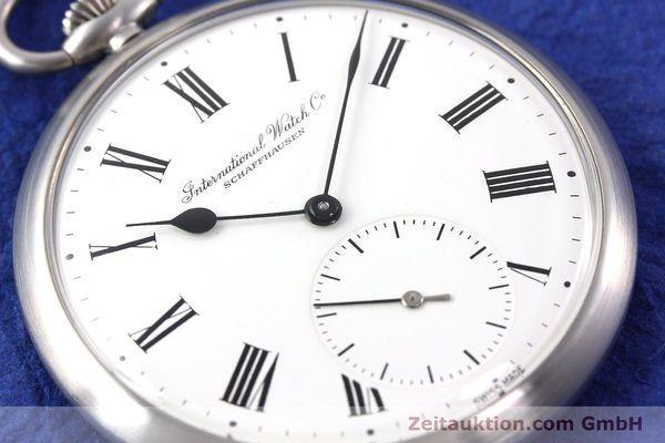 Used luxury watch IWC Taschenuhr steel manual winding Kal. C.972 Ref. 5301  | 141799 02