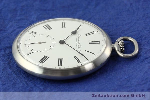 Used luxury watch IWC Taschenuhr steel manual winding Kal. C.972 Ref. 5301  | 141799 03