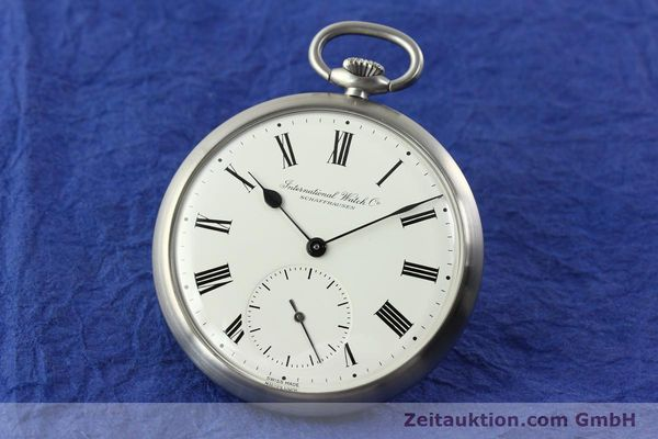 Used luxury watch IWC Taschenuhr steel manual winding Kal. C.972 Ref. 5301  | 141799 04