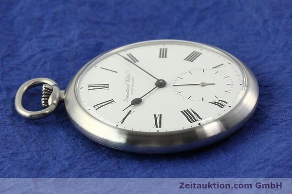 Used luxury watch IWC Taschenuhr steel manual winding Kal. C.972 Ref. 5301  | 141799 05