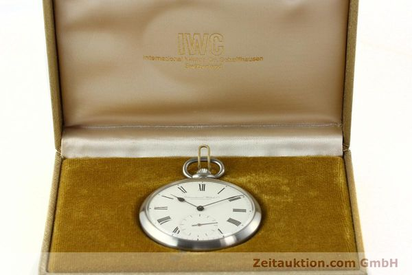 Used luxury watch IWC Taschenuhr steel manual winding Kal. C.972 Ref. 5301  | 141799 07
