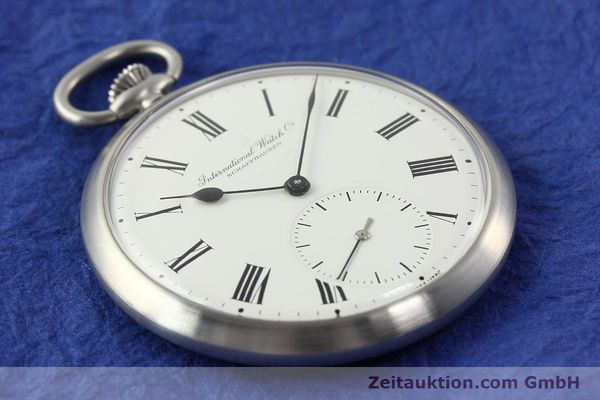 Used luxury watch IWC Taschenuhr steel manual winding Kal. C.972 Ref. 5301  | 141799 14