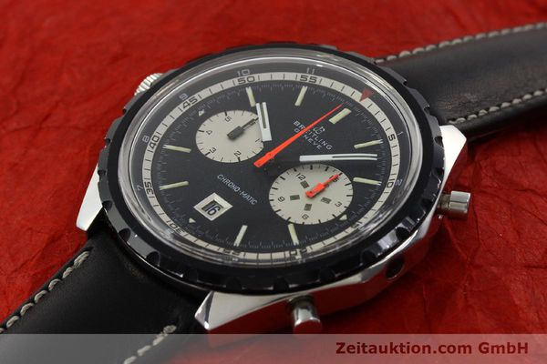 Used luxury watch Breitling Chrono-Matic chronograph steel automatic Kal. 11 Ref. 7651  | 141801 01