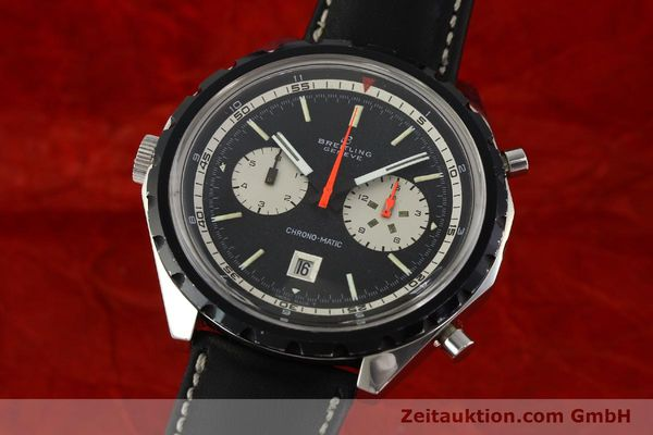 Used luxury watch Breitling Chrono-Matic chronograph steel automatic Kal. 11 Ref. 7651  | 141801 04