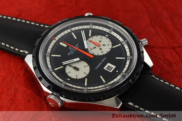 Used luxury watch Breitling Chrono-Matic chronograph steel automatic Kal. 11 Ref. 7651  | 141801 13