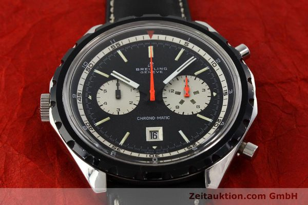 Used luxury watch Breitling Chrono-Matic chronograph steel automatic Kal. 11 Ref. 7651  | 141801 14