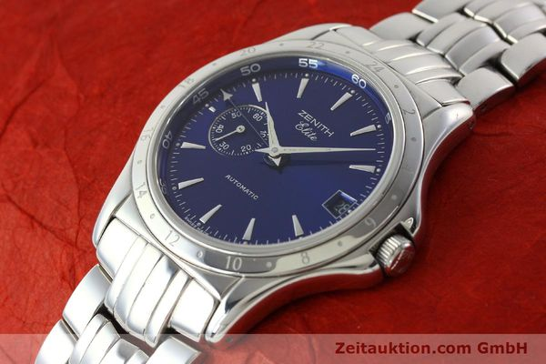 Used luxury watch Zenith Elite steel automatic Kal. 682 Ref. 90/020030682  | 141802 01