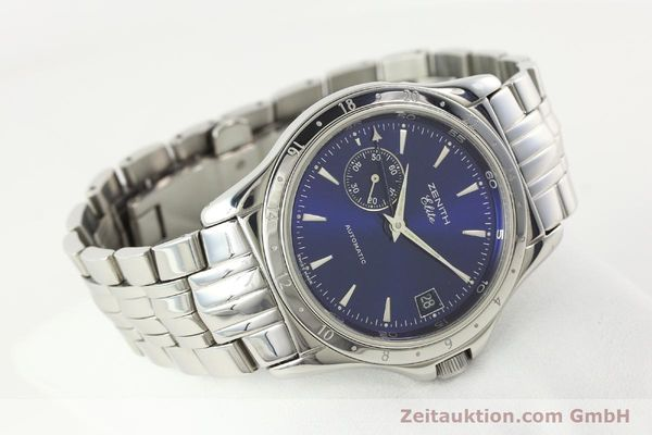 Used luxury watch Zenith Elite steel automatic Kal. 682 Ref. 90/020030682  | 141802 03