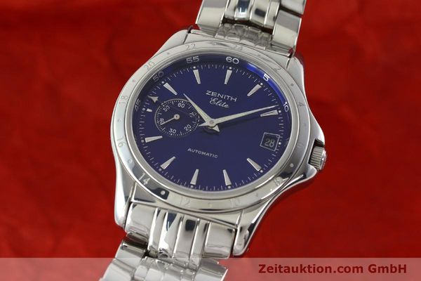 Used luxury watch Zenith Elite steel automatic Kal. 682 Ref. 90/020030682  | 141802 04