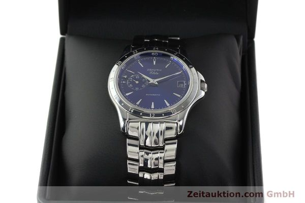 Used luxury watch Zenith Elite steel automatic Kal. 682 Ref. 90/020030682  | 141802 07