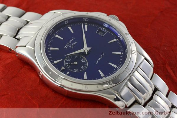 Used luxury watch Zenith Elite steel automatic Kal. 682 Ref. 90/020030682  | 141802 14