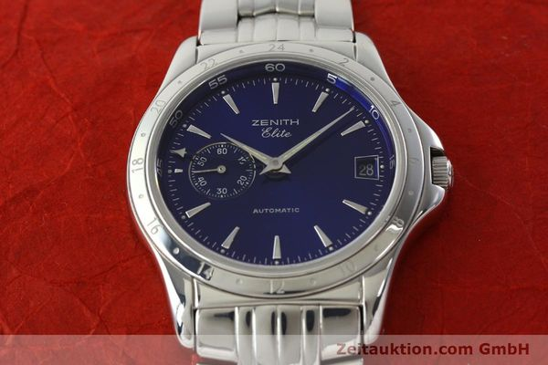 Used luxury watch Zenith Elite steel automatic Kal. 682 Ref. 90/020030682  | 141802 15