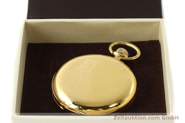 Used luxury watch IWC Taschenuhr 14 ct yellow gold manual winding Kal. H6  | 141804 07
