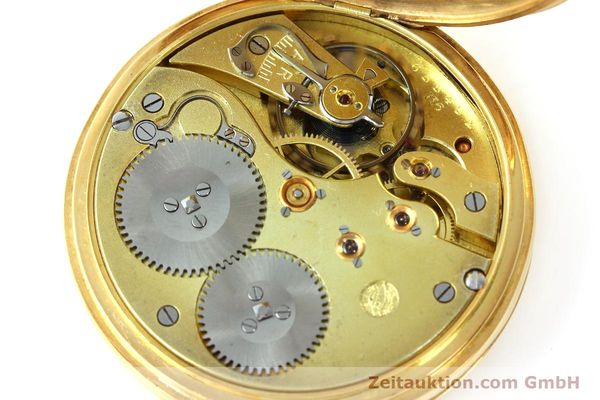 Used luxury watch IWC Taschenuhr 14 ct yellow gold manual winding Kal. H6  | 141804 10