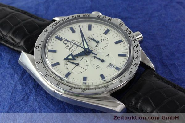Used luxury watch Omega Speedmaster chronograph steel automatic Kal. 3303A  | 141805 14