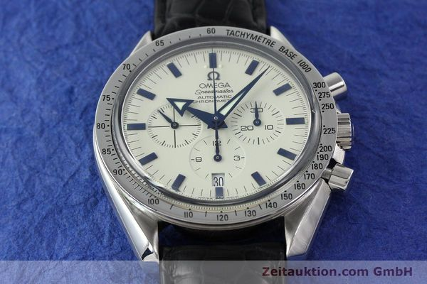 Used luxury watch Omega Speedmaster chronograph steel automatic Kal. 3303A  | 141805 15