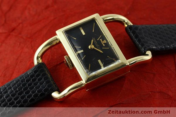 Used luxury watch Jaeger Le Coultre Etrier 18 ct gold manual winding Kal. K840 Ref. 1671 VINTAGE  | 141807 01