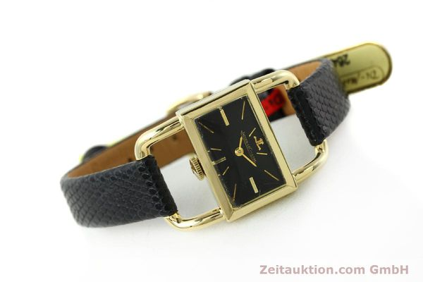 Used luxury watch Jaeger Le Coultre Etrier 18 ct gold manual winding Kal. K840 Ref. 1671 VINTAGE  | 141807 03