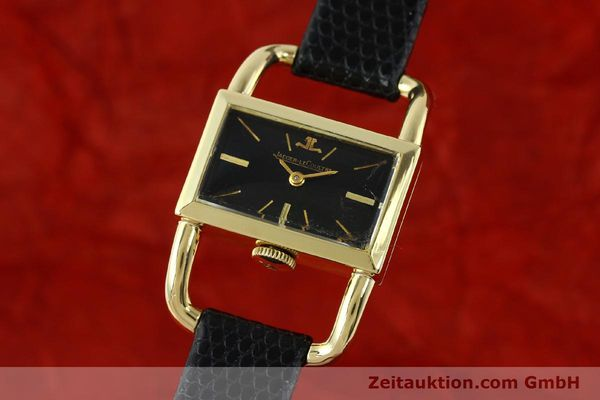 Used luxury watch Jaeger Le Coultre Etrier 18 ct gold manual winding Kal. K840 Ref. 1671 VINTAGE  | 141807 04