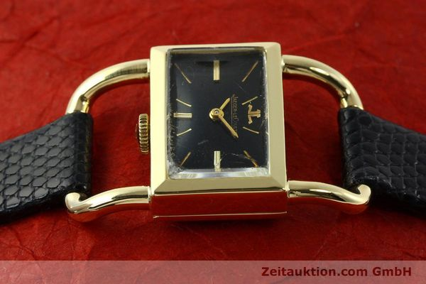 Used luxury watch Jaeger Le Coultre Etrier 18 ct gold manual winding Kal. K840 Ref. 1671 VINTAGE  | 141807 05