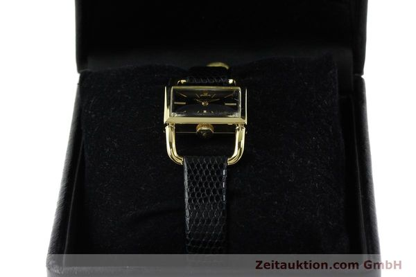 Used luxury watch Jaeger Le Coultre Etrier 18 ct gold manual winding Kal. K840 Ref. 1671 VINTAGE  | 141807 07