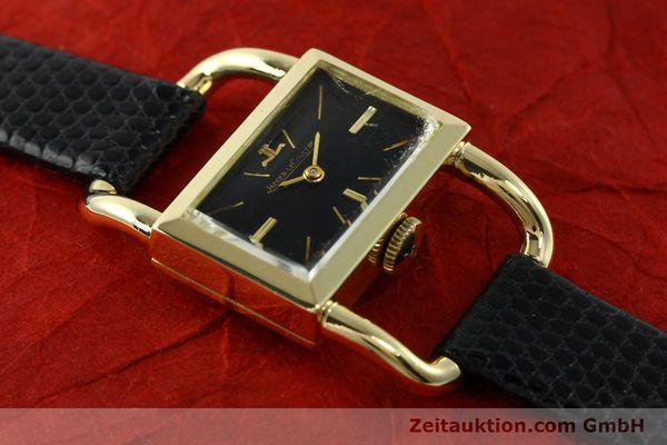 Used luxury watch Jaeger Le Coultre Etrier 18 ct gold manual winding Kal. K840 Ref. 1671 VINTAGE  | 141807 11