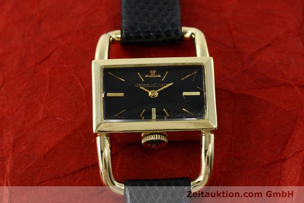 Used luxury watch Jaeger Le Coultre Etrier 18 ct gold manual winding Kal. K840 Ref. 1671 VINTAGE  | 141807 12