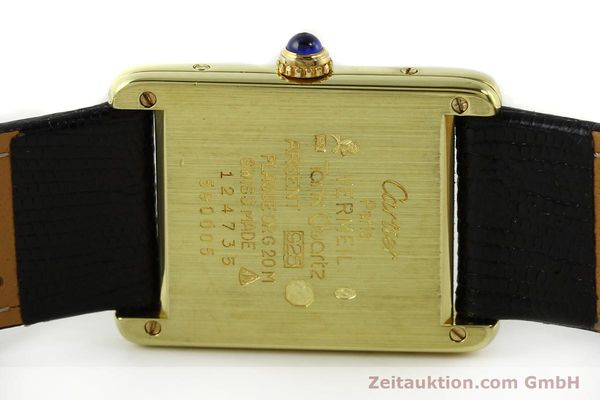 Used luxury watch Cartier Tank silver-gilt quartz Kal. 90  | 141813 09