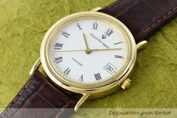 montre de luxe d occasion Girard Perregaux * or 18 ct automatique Kal. 220  | 141815 01