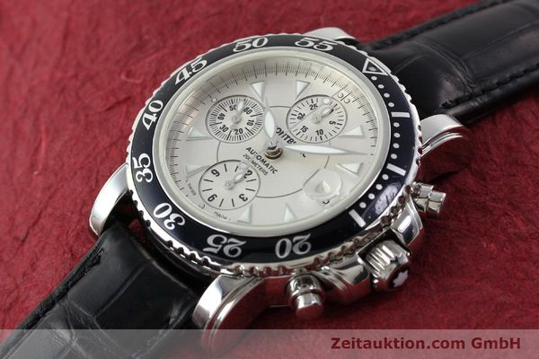 Used luxury watch Montblanc Sport Chronograph chronograph steel automatic Kal. 4810501 ETA 7750 Ref. 7034  | 141816 01