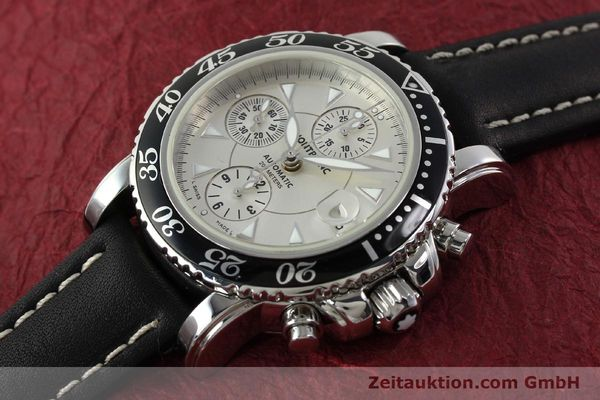 Used luxury watch Montblanc Sport Chronograph steel automatic Ref. 7034  | 141817 01