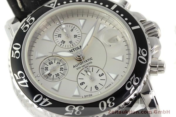 Used luxury watch Montblanc Sport Chronograph steel automatic Ref. 7034  | 141817 02