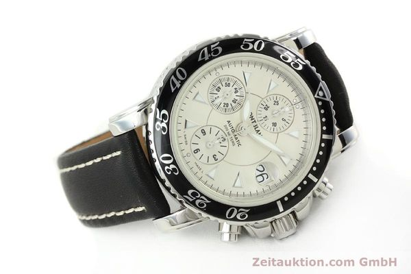 Used luxury watch Montblanc Sport Chronograph steel automatic Ref. 7034  | 141817 03