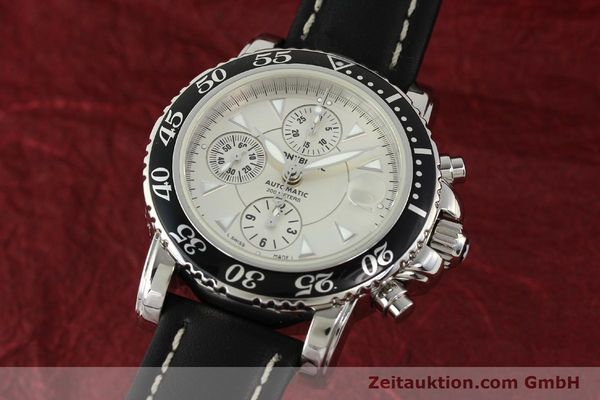 Used luxury watch Montblanc Sport Chronograph steel automatic Ref. 7034  | 141817 04