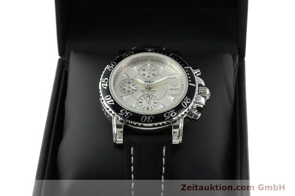 Used luxury watch Montblanc Sport Chronograph steel automatic Ref. 7034  | 141817 07