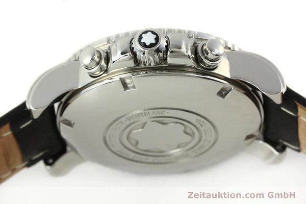 Used luxury watch Montblanc Sport Chronograph steel automatic Ref. 7034  | 141817 08