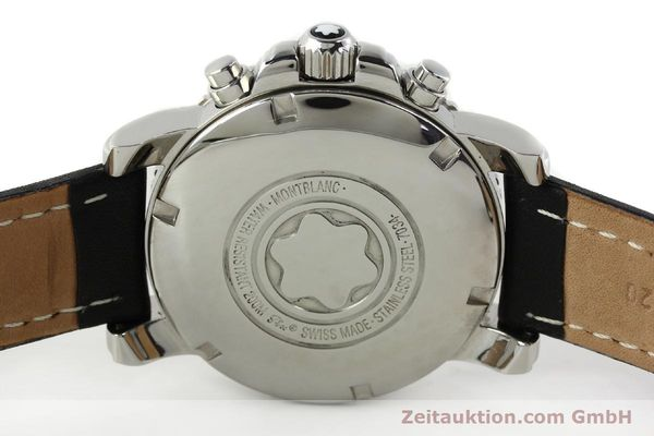 Used luxury watch Montblanc Sport Chronograph steel automatic Ref. 7034  | 141817 09
